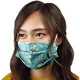 NA Andrews-GL Masque facial confortable Van Gogh Iris Violet Fine Art R/ésistant au soleil Fashion Bandana Headwear pour la p/êche
