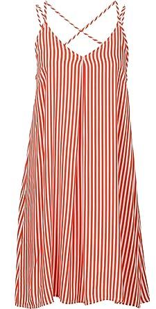 the best attitude 18dad f248e Versandhausware Süsses Kleid Strandkleid weiß/rot gestreift 933063