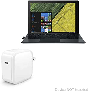 Acer Switch 5 (SW512-52) Charger, BoxWave [PD miniCube (18W)] 18W PD Wall Charger for Acer Switch 5 (SW512-52) - Winter White