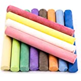 Colored Chalkboard Chalk - Dustless by Zenchalk (12 Count)