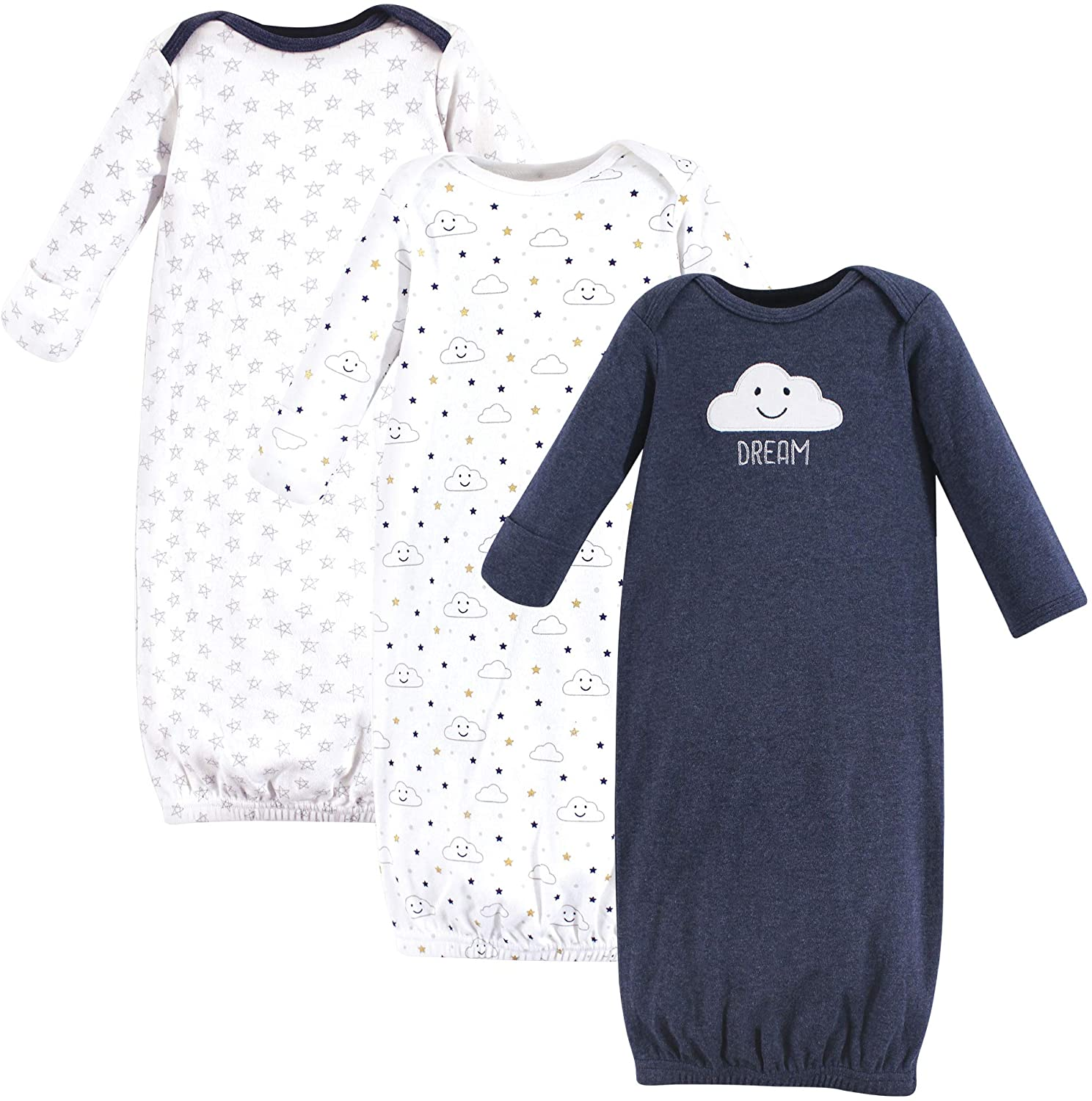 Hudson baby Baby-Girls Unisex Baby Nightgown