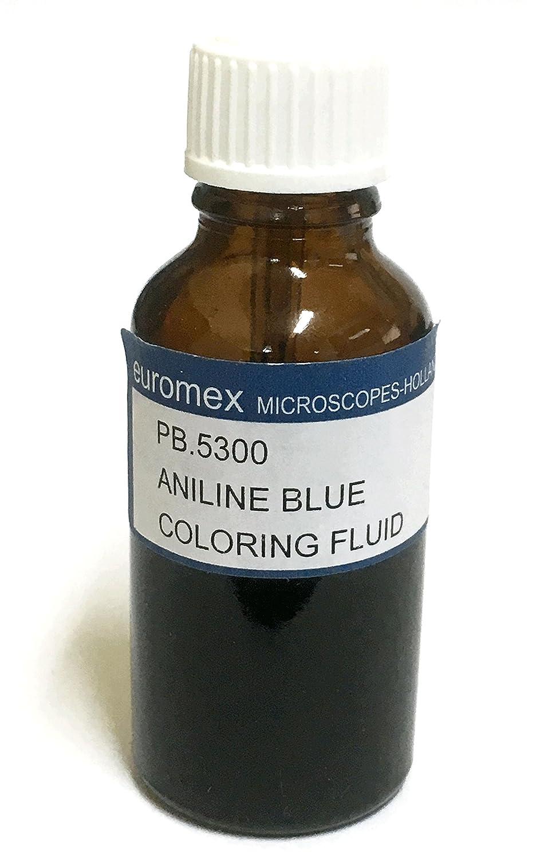 Azul de Anilina (Aniline Blue) 25 ml - Euromex: Amazon.es ...