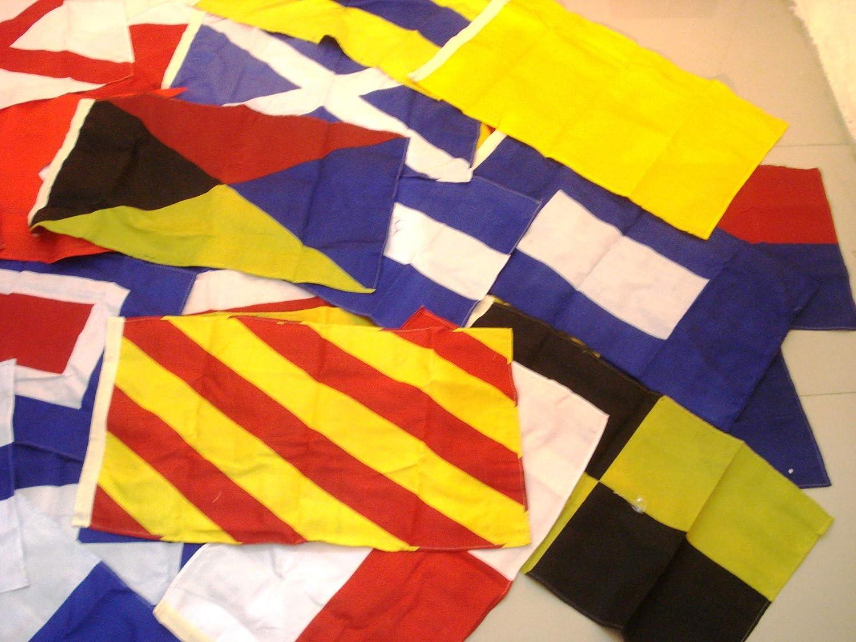"LARGE FLAG H 16/"" X 28/"" Marine Code Naval Signal Flag Nautical // Boat"