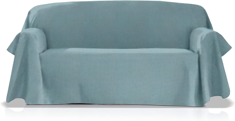 JM Textil Foulard Multi-usages Mod/èle GEA Taille 240x270 Cm Couleur Gris