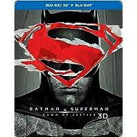 Batman vs Superman: Dawn of Justice (Steelbook) (Blu-ray 3D & Blu-ray) (2-Disc)