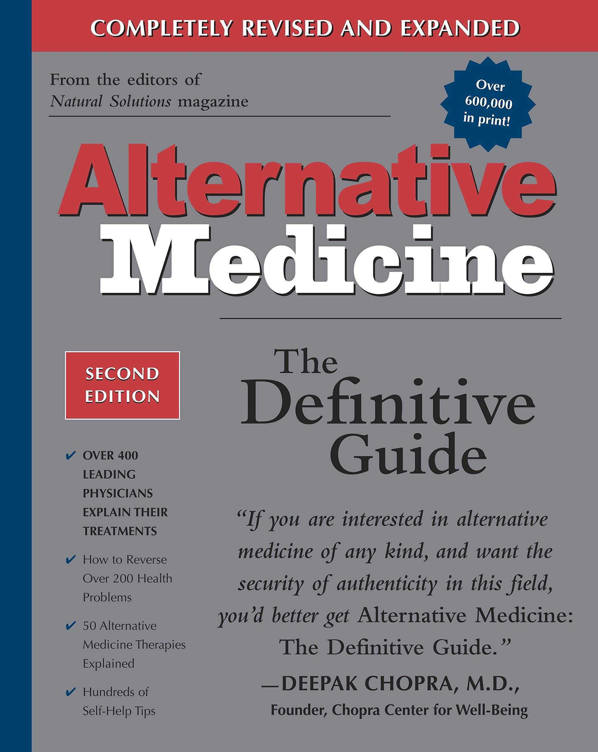 Alternative Medicine: The Definitive Guide (2nd Edition): John W. Anderson,  Larry Trivieri, Burton Goldberg: 9781587611414: Amazon.com: Books