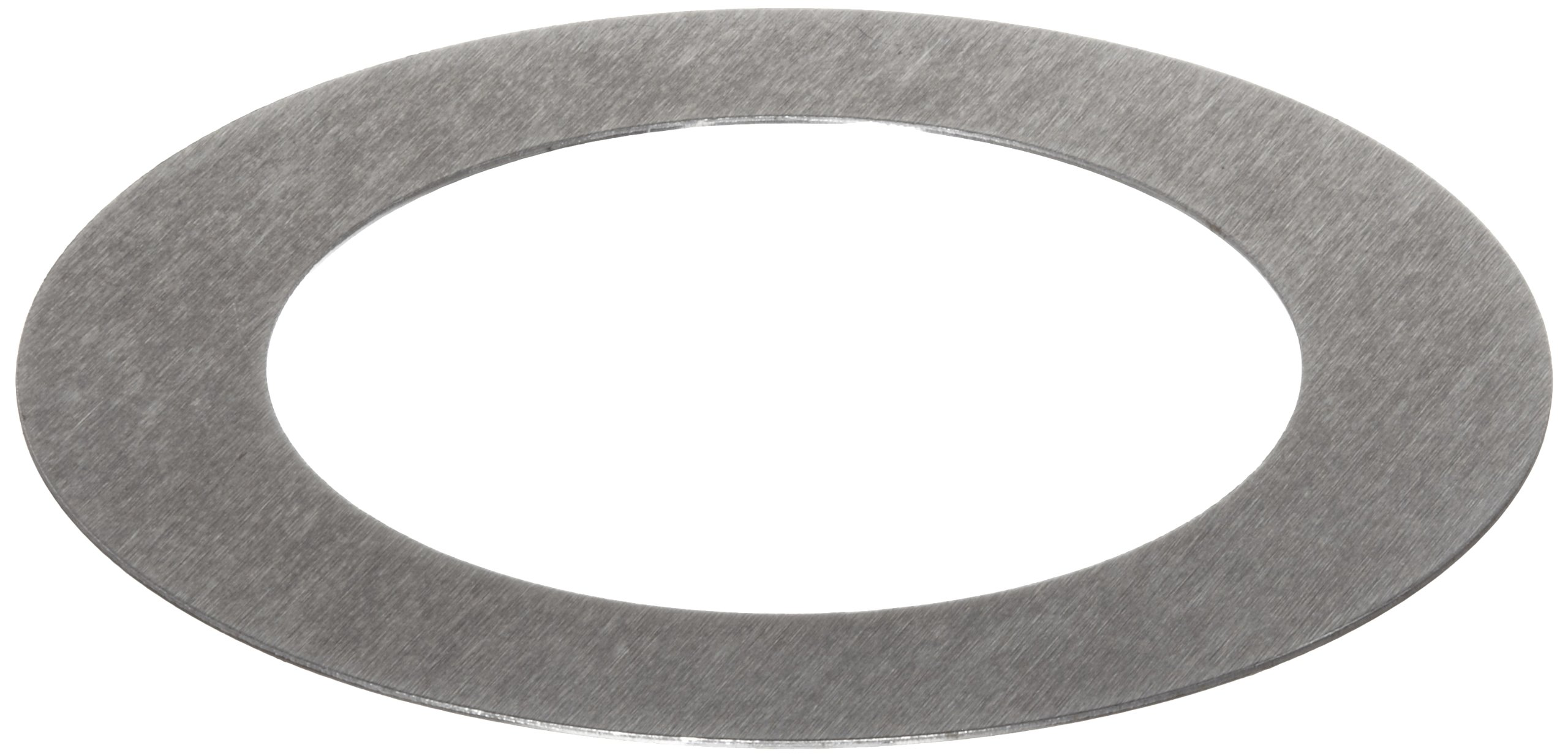 C1008/C1010 Steel Round Shim, Unpolished (Mill) Finish, #1-5 Temper, ASTM A1008/ASTM A1011, 0.125'' Thickness, 1-1/4'' ID, 1-3/4'' OD (Pack of 10)