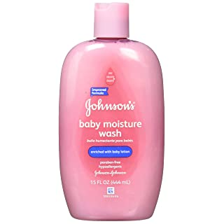 J&J Moist Care Baby WSH Size 15z Johnson's Moisture Care Baby Wash