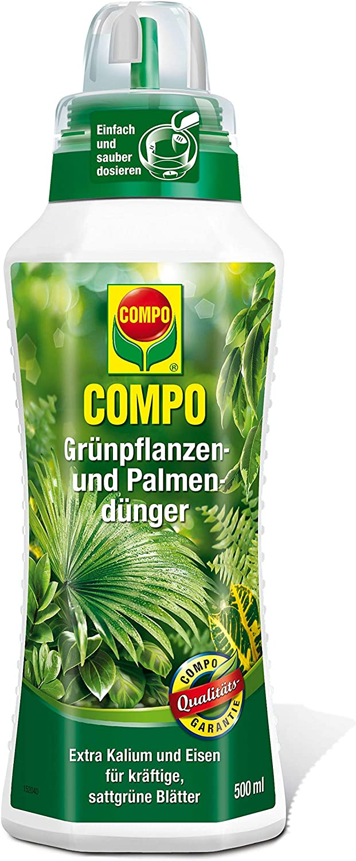 Compo Fertilizante de y palmera Plantas Verdes – 500 ml: Amazon.es ...