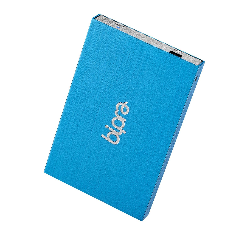 Bipra 320GB 2.5 inch USB 2.0 FAT32 Portable External Hard Drive - Blue by BIPRA (Image #1)