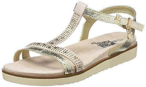 053cce29c45 XTI Women s 47663 Ankle Strap Sandals  Amazon.co.uk  Shoes   Bags