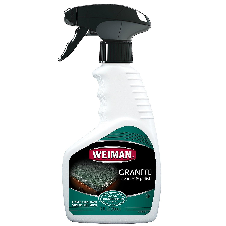 Amazon.com: Weiman Granite Cleaner & Polish, 12 fl oz: WEIMAN ...