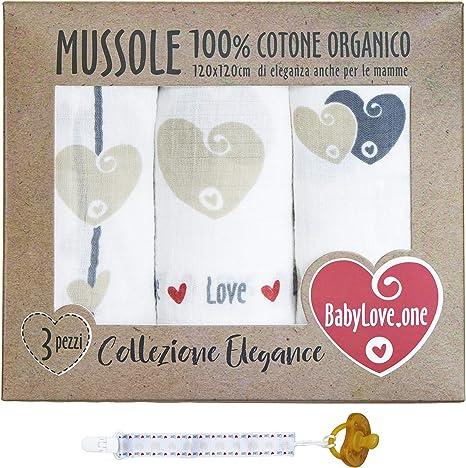 Muselina bebé de algodón suave y orgánico para niños y bebés ...