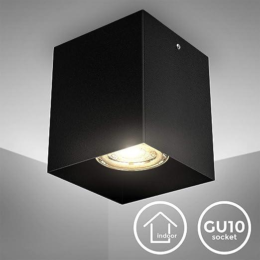 B.K.Licht I proyector de superficie I Toma GU10 I 80x80x95mm I ...
