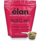 ELAN Premium Paleo Nut Granola, Low Carb Ketogenic Friendly Cereal, Healthy Grain Free Breakfast Snack Food & Trail Mix (Cashew Macadamia Brazil Nuts, 1.33lb Bulk Bag)