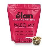 ELAN Paleo Granola Cereal, Ketogenic Low Carb Snacks, Grainless Trail Mix, Gluten Free, Low Glycemic (Cashew Coconut Macadamia Nuts, 1.33lb Bulk Bag)