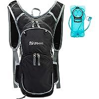 Ubon Hydration Backpack w/2L Water Bladder Helmet Holder