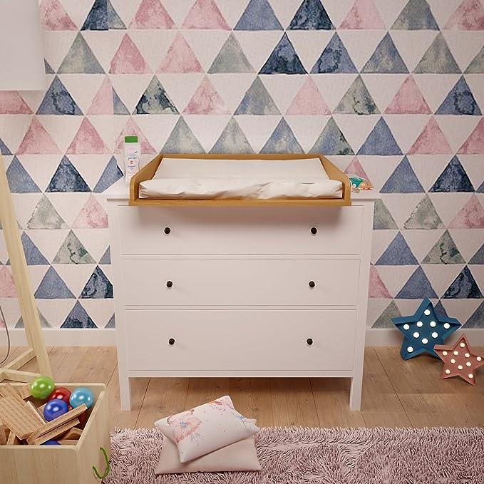 101118414 libro, Polini niños cambiador para cómoda Hemnes IKEA, 1412.2: Amazon.es: Bebé