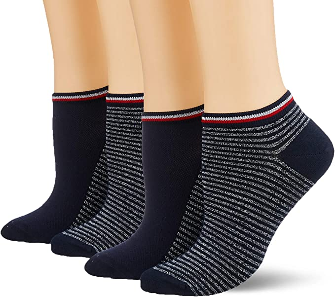 Tommy Hilfiger Calcetines (Pack de 2) para Mujer: Amazon.es: Ropa ...