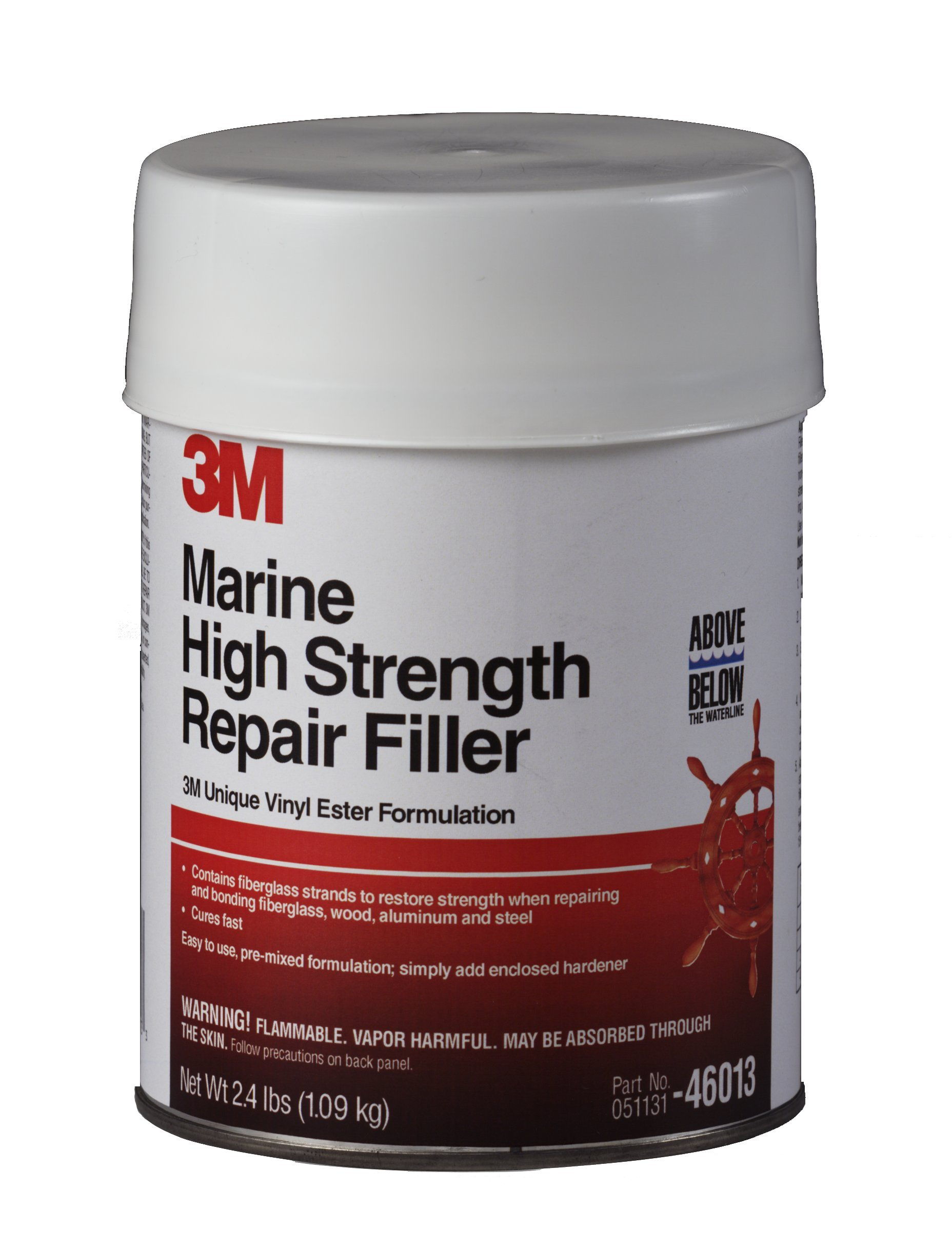 3M Marine High Strength Repair Filler (1 Quart) by 3M (Image #1)