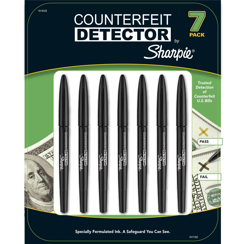 Sharpie Counterfeit Detector Markers