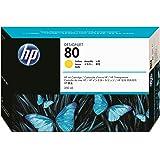 HP N°80 Cartouche d'encre d'origine Jaune C4848A