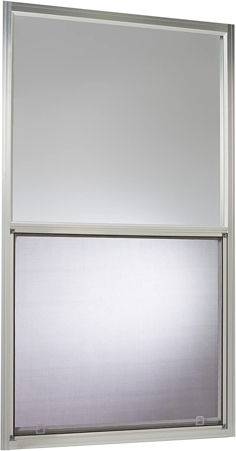 "Park Ridge Products AMHMF3054PR Park Ridge Mill Finish Aluminum Mobile Home Single Hung Window, 30"" x 54"", Silver"