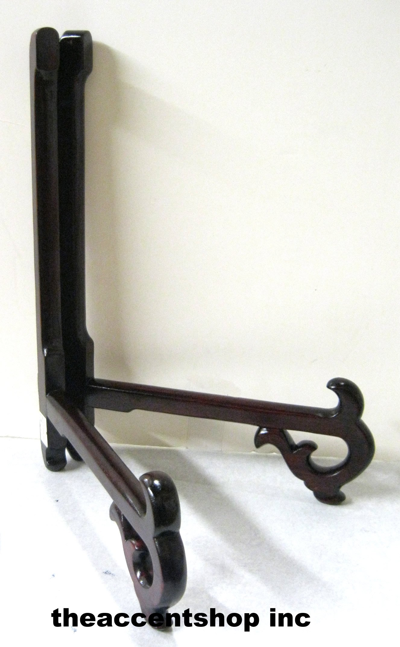 C&F Rosewood Plate Stand, 11'' (41308)