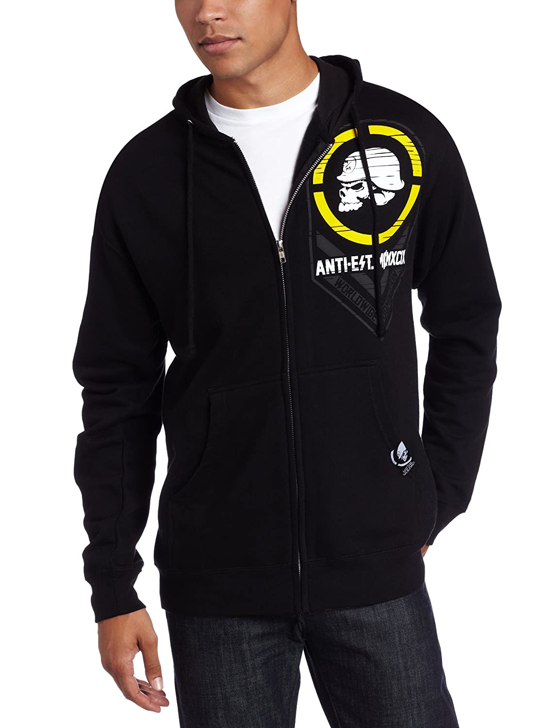 Affiliate Zipped Metal Mulisha Hoody