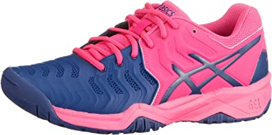 Asics Gel-Resolution 7 GS Junior Zapatilla De Tenis: Amazon.es ...