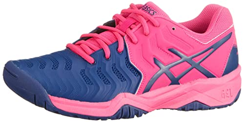 Asics Gel-Resolution 7 GS Junior Zapatilla De Tenis - AW18: Amazon.es: Zapatos y complementos