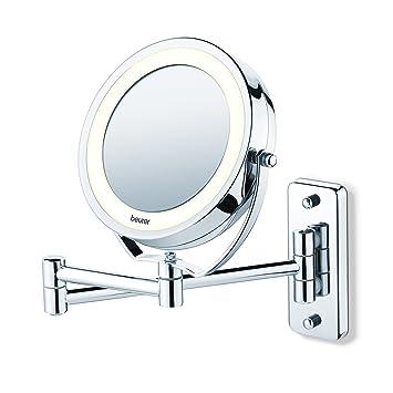 Miroir Mural Pour Maquillage Miroir Grossissant éclairage Led Beurer