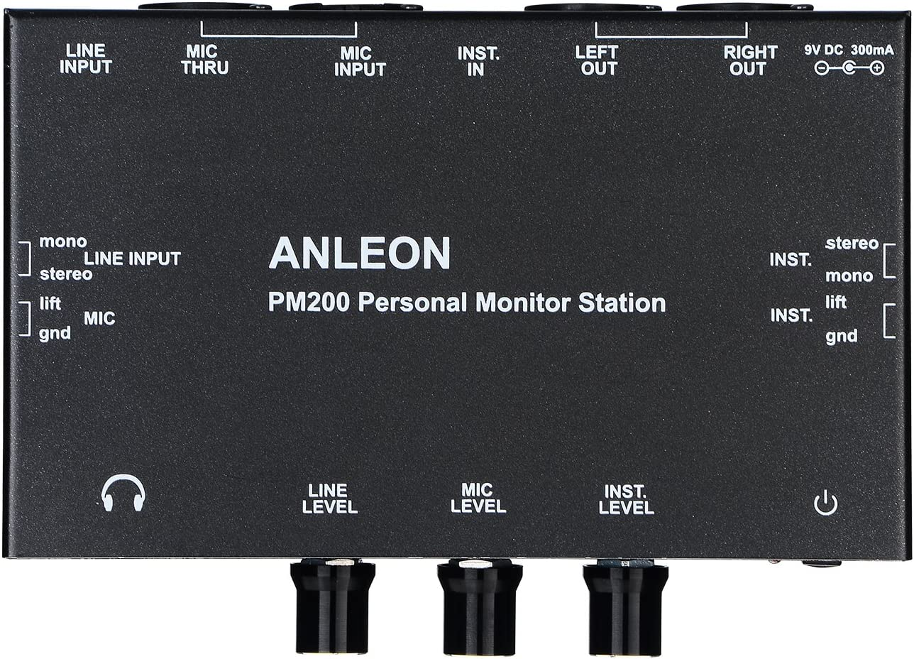 ANLEON PM200 Personal Monitor Station Multi-Channel Mixer stage monitor 81l9cohYiILSL1500_