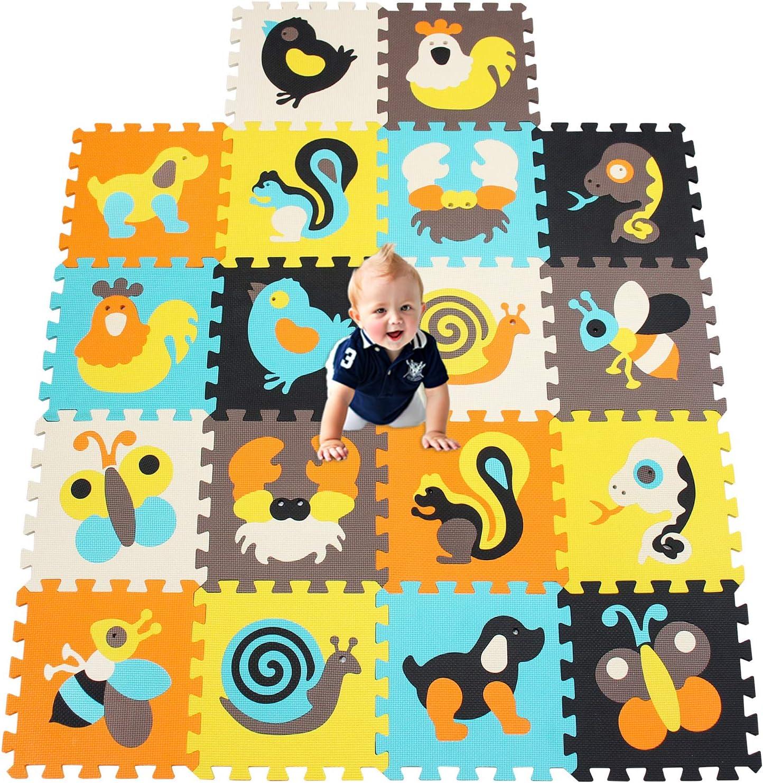 Tappeto Puzzle per Bambini in Soffice Schiuma Eva