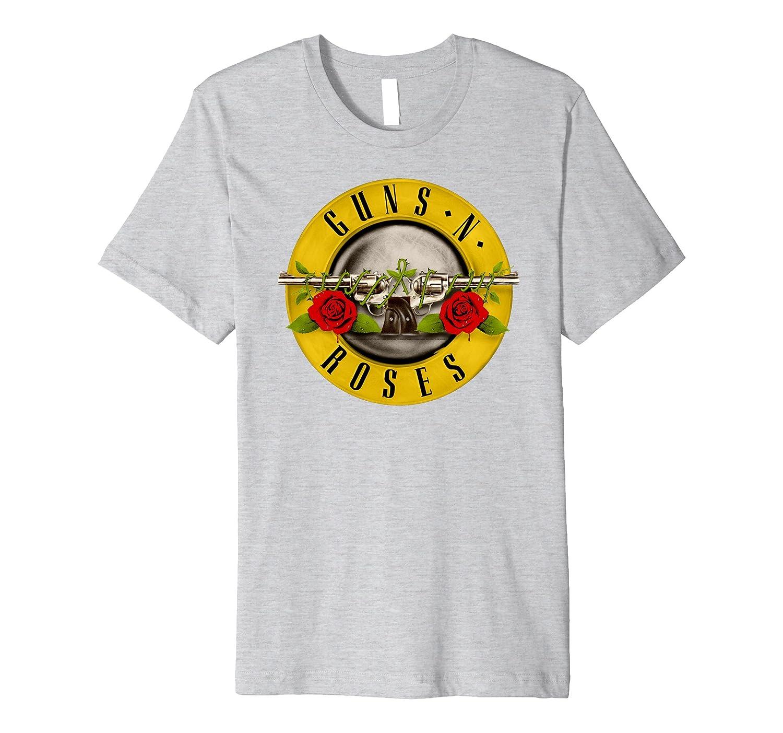 Guns N' Roses Classic Bullet Logo T-Shirt-alottee gift
