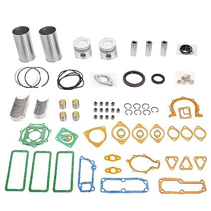 Amazon com: NEWTRY Engine Rebuilt kit for Isuzu 6BD1 6BD1T