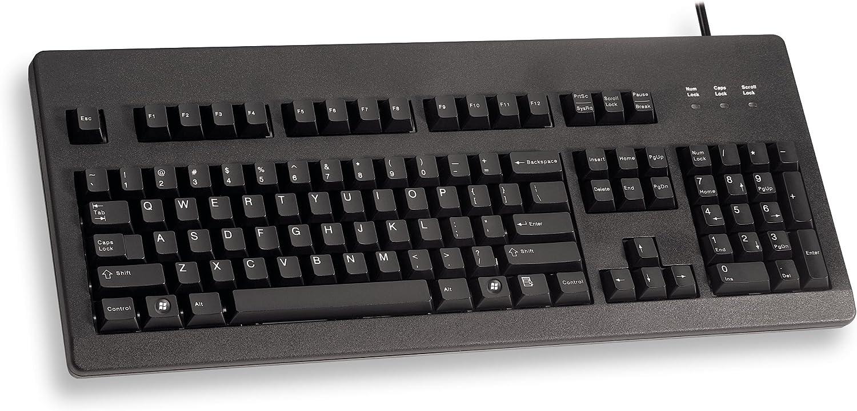 PS2,DE PC Keyboard G80-3000 PS2,DE Cherry Std G80-3000LSCDE-2