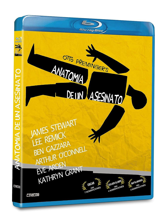 Anatomy Of A Murder Anatomia de Un Asesinato - Blu-Ray BD-R - Region ...