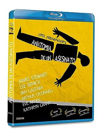 Anatomía de un Asesinato BD 1959 Anatomy of a Murder Blu-ray: Amazon ...