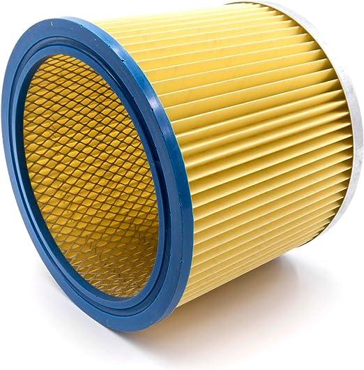 vhbw Filtros redondos, filtros laminados, filtros para aspiradoras, aspiradores multiusos Parkside PNTS 1500 (A1/B1/B2), 30/4(E/S), 30/6(E/S).: Amazon.es: Hogar