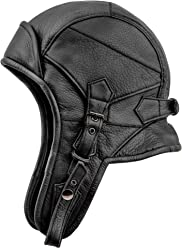 c5630ba80db47 Sterkowski Genuine Leather 8 Aviator Helmet Trapper Cap