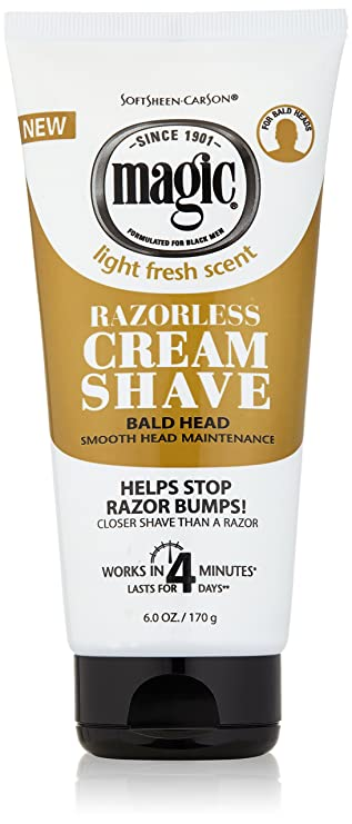 Amazon Com Razorless Shaving Cream For Men By Softsheen Carson