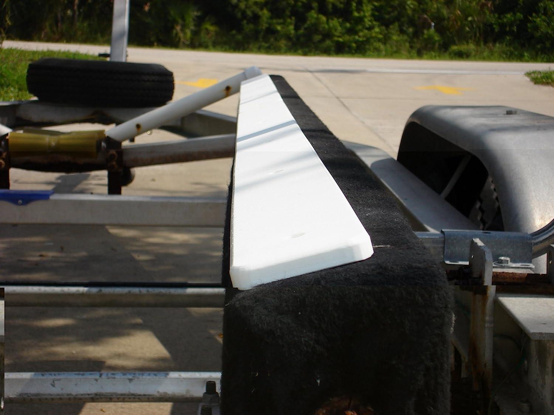 "6-48/"" x 3/"" NEW BOAT TRAILER BUNK SLIDES Plastic Poly Glide Pontoon Fish Lift"