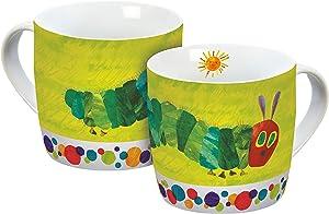 Very Hungry Caterpillar Porcelain Coffee Mug Green