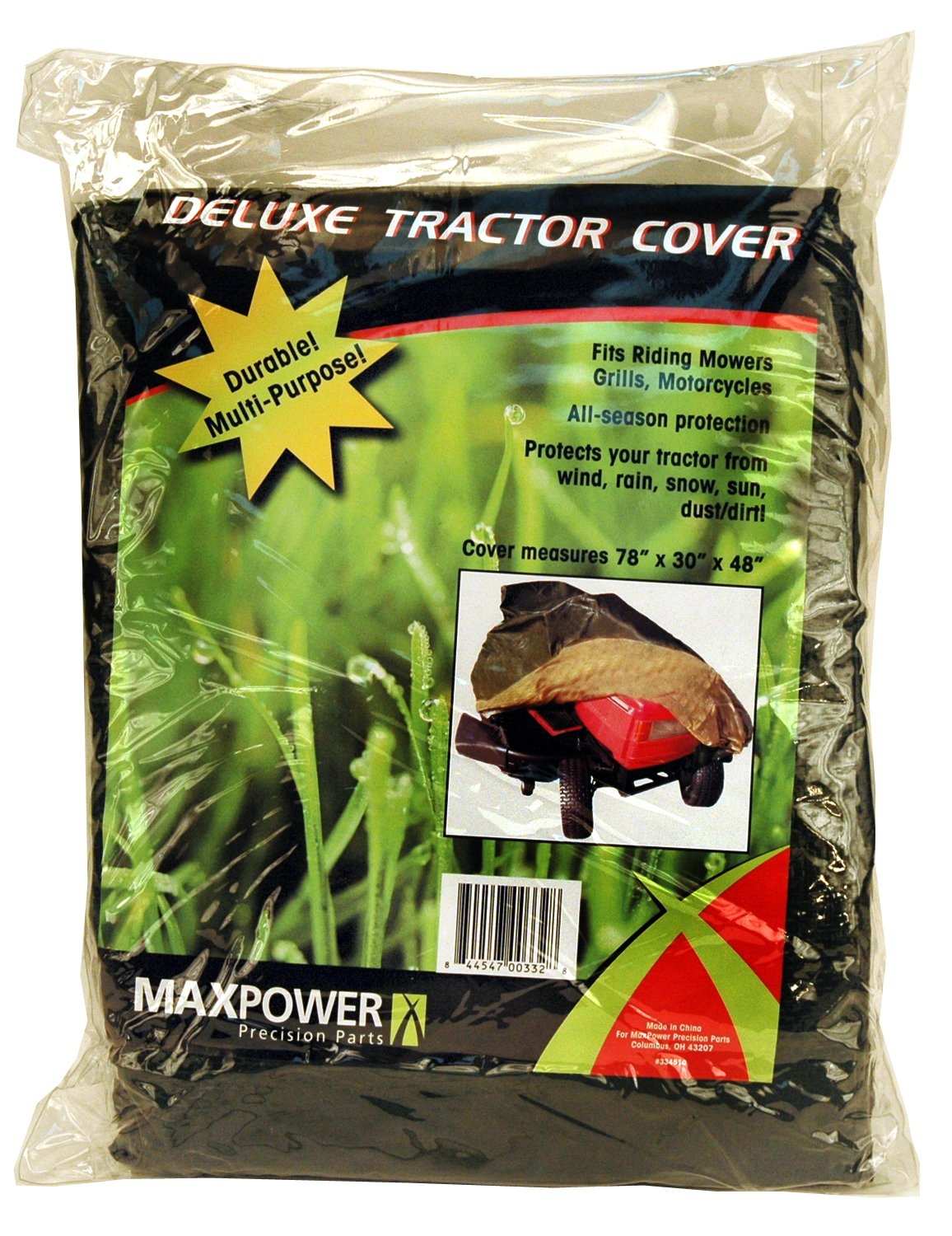 Maxpower 334510 Deluxe Riding Lawn Mower Cover Maxpower Precision Parts