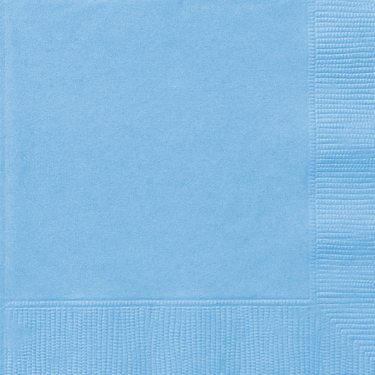 Light Blue Paper Napkins, 50ct Unique Industries Inc. 30895