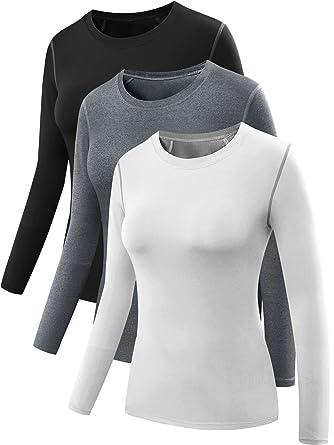 d3cca0dd447cc8 Amazon.com  Neleus Women s 3 Pack Dry Fit Athletic Compression Long ...
