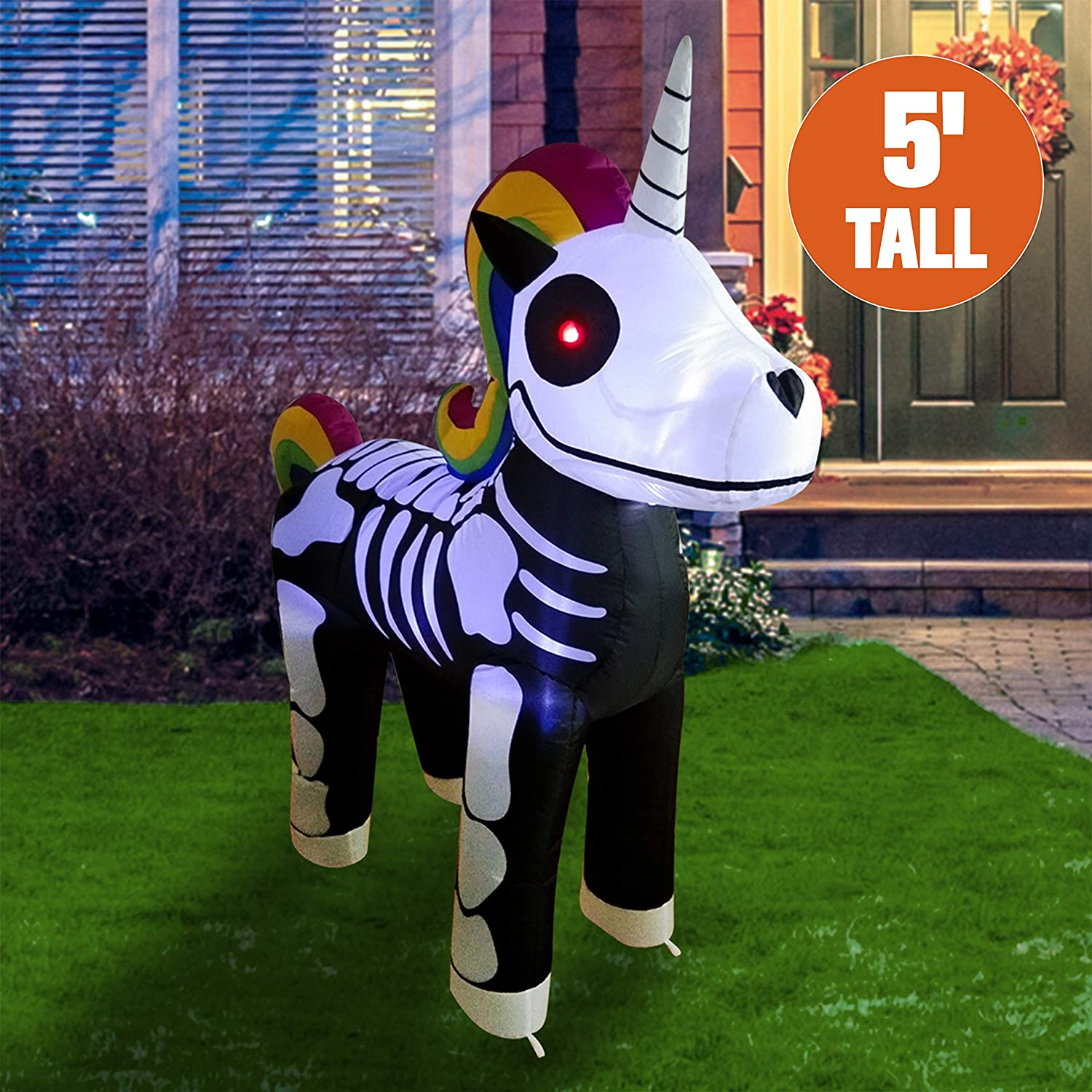 Skeleton Unicorn Outdoor Inflatables