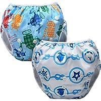 Luxja Pañal de Natación para bebes Bañador Reutilizable