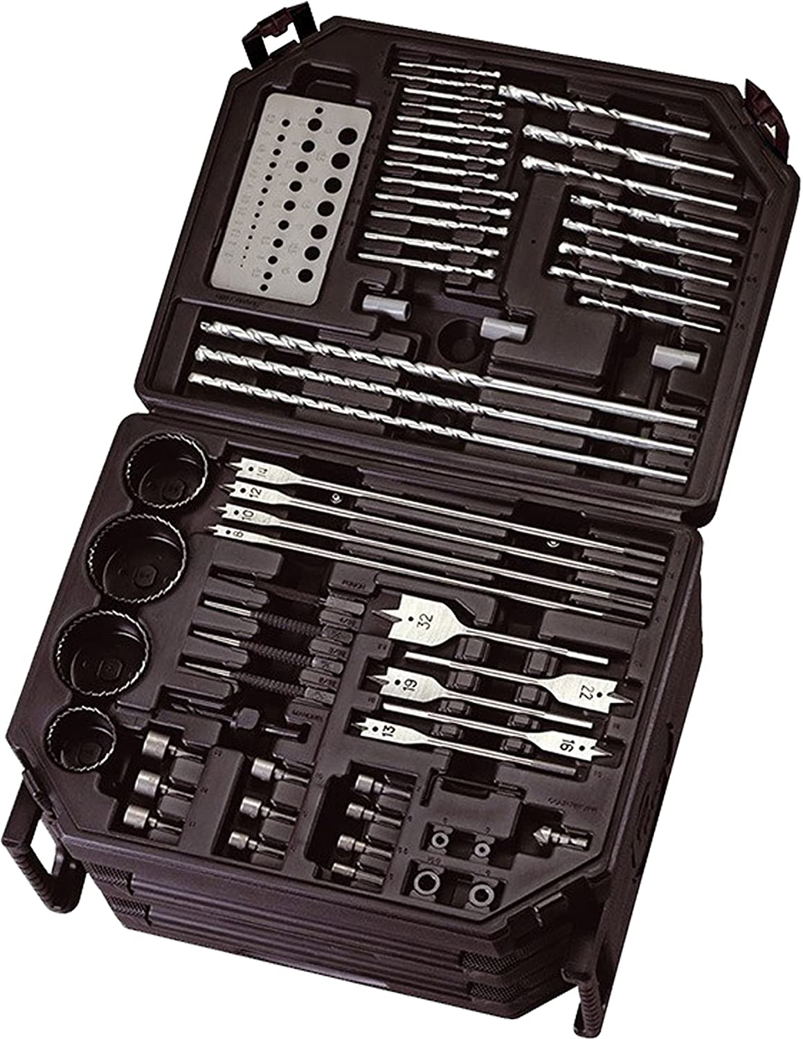 Lumberjack DBS300 Drill Driving Bit Accessory Set 300 Piece with Case